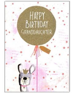 'Happy Birthday Granddaughter' Card