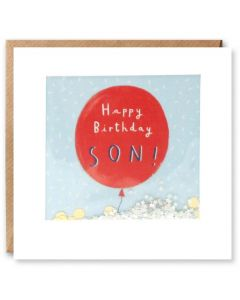 'Happy Birthday Son' Card