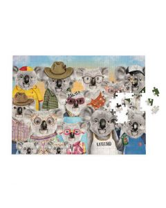 1000 piece Jigsaw Puzzle - 'Koala Cuties' - Aussie koala characters