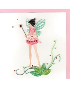 Quilling Card - Fairy