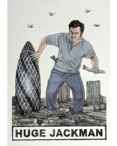 Greeting Card - Huge Jackman