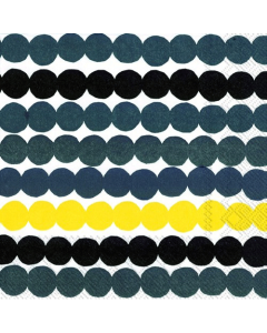 Rasymatto Yellow Luncheon Napkins (Pack of 20)