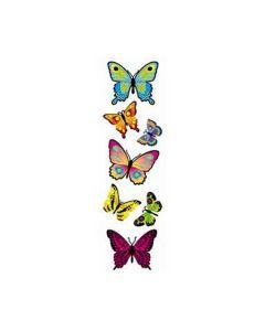 Pop Up Butterflies Stickers