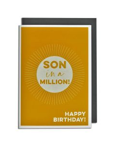 SON Birthday Card - Son in a Million