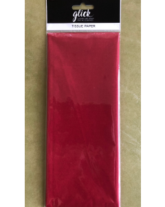 Rich Red Tissue Paper - 4 sheets