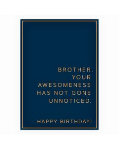 BROTHER Card - Awesomeness