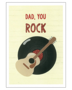 Rocking Dad Card