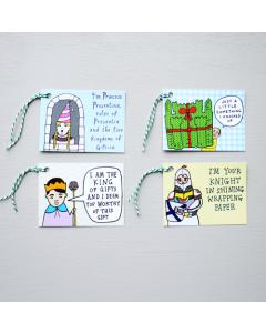 Royal Gift Tags Pack