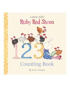 Ruby Red Shoes Picture Book - 123 Counting