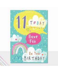 AGE 11 Card - Have Fun