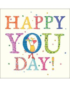 HAPPY YOU DAY!