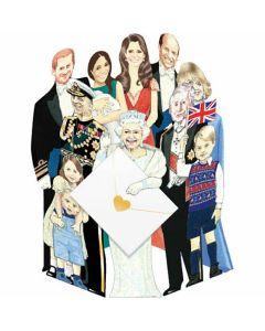 3D Card - The Royal Family