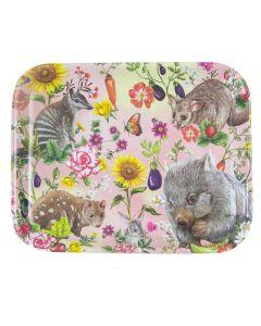 Secret Garden Animals & Flowers - Small Tray