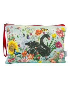 Secret Garden Birds Clutch Purse