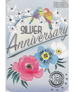 'Silver Anniversary' Card