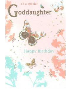 Goddaughter Birthday - Butterflies