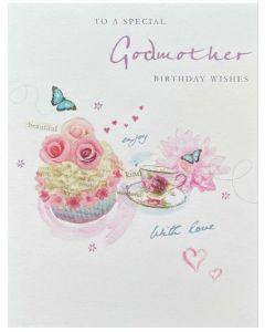 Godmother - Tea cup & butterflies