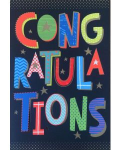 BIG Card - Congratulations