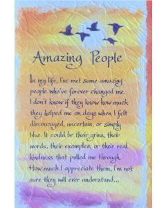Amazing People....