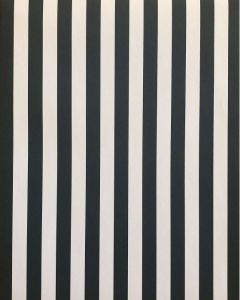 Folded Wrapping Paper - Charcoal Grey & White Stripes