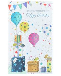 Birthday Card - Enjoy Your Special Day