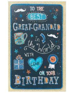 Great-Grandad - 'Best Grandad in the world'