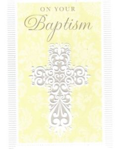 BAPTISM - White Cross