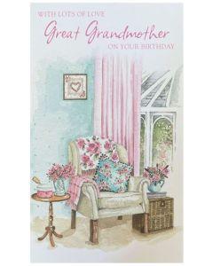 Great-Grandmother Birthday - Chair by window