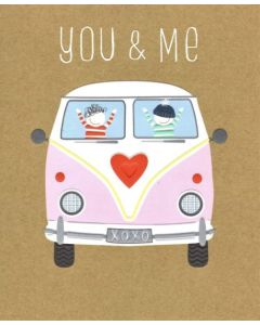 'You & Me...' Greeting Card