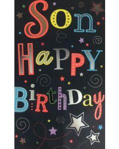 SON Card - Stars & Swirls