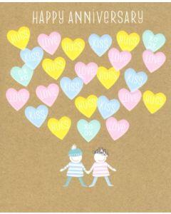 Our Anniversary - LOVE HUGS KISS XO