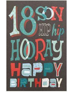 SON Age 18 - 'Hip Hip Hooray'