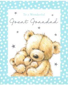 Great Grandad Birthday - Hugging Bears