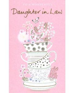 Daughter-in-Law Birthday - Teacups & Butterflies