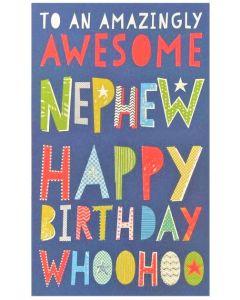 NEPHEW Card - Amazingly Awesome
