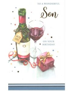 Son Birthday - Wine & Present