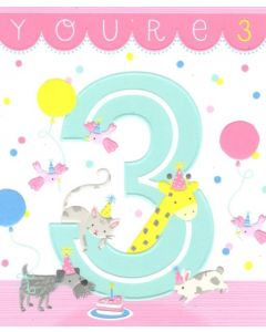 AGE 3 - Animals Having Party