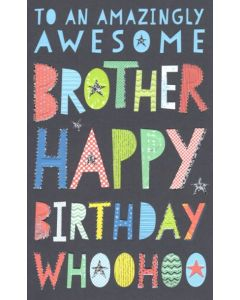 BROTHER Card - Amazingly Awesome