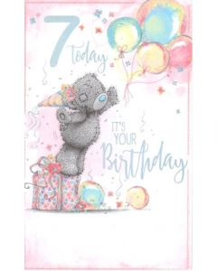 AGE 7 - Teddy & Balloons