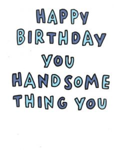 BIRTHDAY - You Handsome Thing
