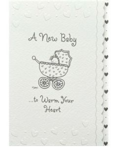 New BABY Card - Warm Your Heart