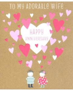 Wife Anniversary - Adorable Wife