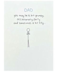 DAD Card - Grumpy, Farty, Silly