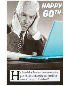 AGE 60 Card - Year of Birth