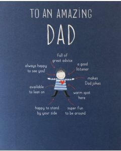 Father's Day - Amazing DAD Diagram