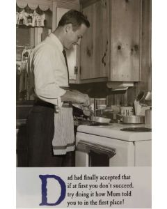 Father's Day - Man in kitchen