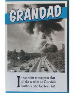 Grandad Birthday - Lots of smoke