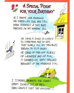 BIRTHDAY - A birthday poem