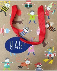 Gift Bag (Medium) - Party characters