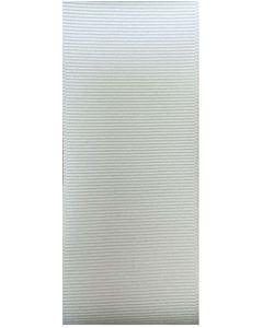 Ribbon - Ivory grosgrain 38mm wide